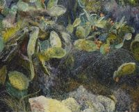 'AGIO IOANNIS', 80x100, Öl auf Leinen, 1992