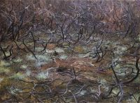 'CAP FREHEL', 110x150, Öl auf Leinen, 1987