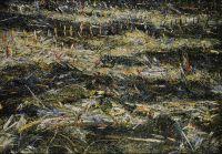 'KLEINHÖFLEIN II', 90x130, Öl auf Leinen, 1992